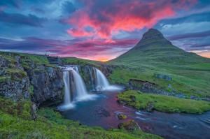 Kirkjufellsfoss_Sunset_Iceland5