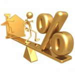 Balancing Home Symbol And Percentage